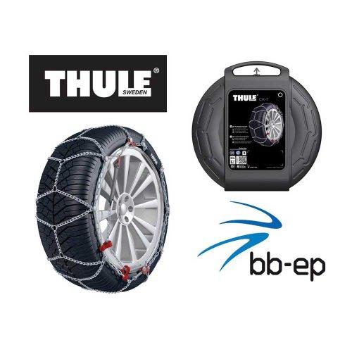 THULE CK-7 Schneeketten die weltweit dünnste Kette für die Reifengröße 215/55 R17