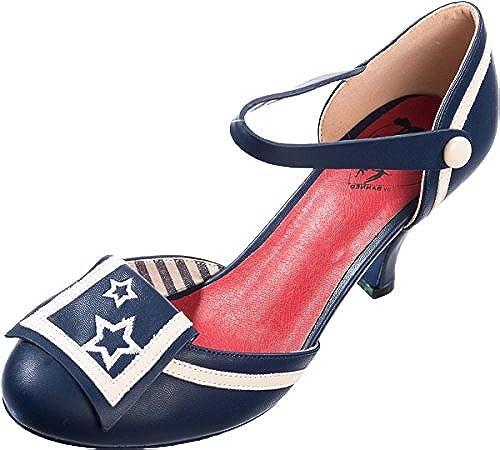 Dancing Days Damen Schuhe Beaufort Spice Spice Spice Sterne Sailor Pumps Geschlossen  bis zu 42% Rabatt