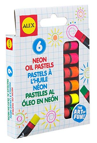 Alex Toys Artist Studio 6Neon Öl-Pastellkreiden