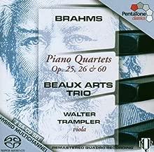 Brahms: Piano Quartets Op 25 26 & 60