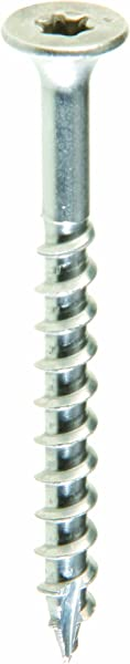Grip Rite Prime Guard MAXS62704 Type 17 Point Deck Screw Number 10 By 2 1 2 Inch T25 Star Drive Stainless Steel 5 Pound Tub