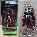 LANMEISM Figura de acción Mortal Spawn Kombat Figura de acción Muñeca de Juguete Brinquedos figurales Colección Modelo de Regalo 18cm (Color : No Box)