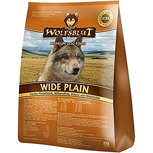 Wolfsblut | Wide Plain | 500 g | Pferd | Trockenfutter | Hundefutter | Getreidefrei