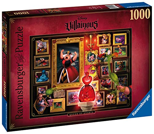 Ravensburger 1500267 Puzzel Villainous Queen Of Hearts - Legpuzzel - 1000 Stukjes