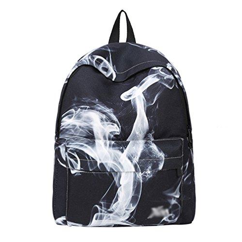Xinwcang Zaino Ragazza, Ragazzo Zaini Scuola Casual Università/Liceo Laptop Daypacks Canvas Backpack Fashion Borsetta Messenger Bag Viaggio Outdoor Come Immagine1