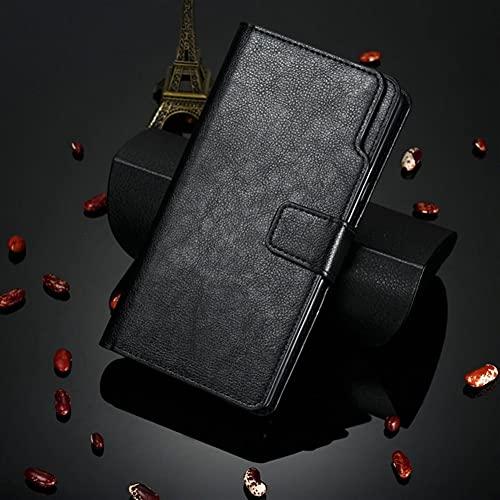HHF-1 1fortunate Cajas del teléfono para Xiaomi MI A3, Tarjeta multifunción Slot Wallet Wallet Shell Flip Case 360 Protege la Cubierta de Cuero para Xiaomi MI A 3 3A MIA3
