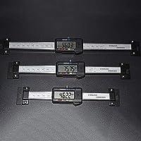 DIY工具 150ミリメートルノギスステンレス鋼製デジタル水平スケールの単位水平電子LCDディスプレイインチ/ MMマシニストツール 耐久性と実用性 (Color : 300mm)