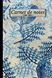 Carnet de Notes: Carnet de Notes Lignée Fleurs - Original et Fantaisie | Idée Cadeau Original pour Noel / Anniversaire | Thème Floral | Format A5 6x9 ... | Cahier Bloc Notes Floral | Journal Intime |