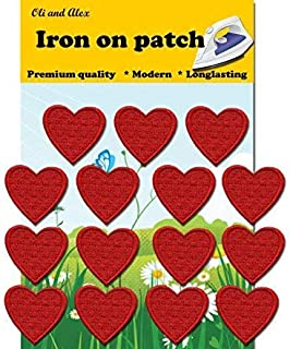 Best sew on heart patches Reviews