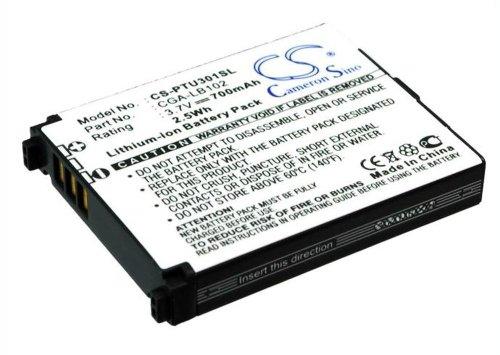 CS Akku 700mAh 2.5Wh 3.7V passend für Panasonic KX-TU301, KX-TU301 GME, KX-TU328, KX-TU321, KX-TU325 // ersetzt Panasonic CGA-LB102