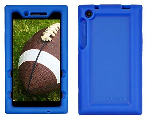 Bobj for Lenovo Tab 3 7 inch Models TB3-730F, TB3-730X (Does not fit Lenovo TB3-710F or TB3-710I) - BobjGear Protective Tablet Cover (Batfish Blue)