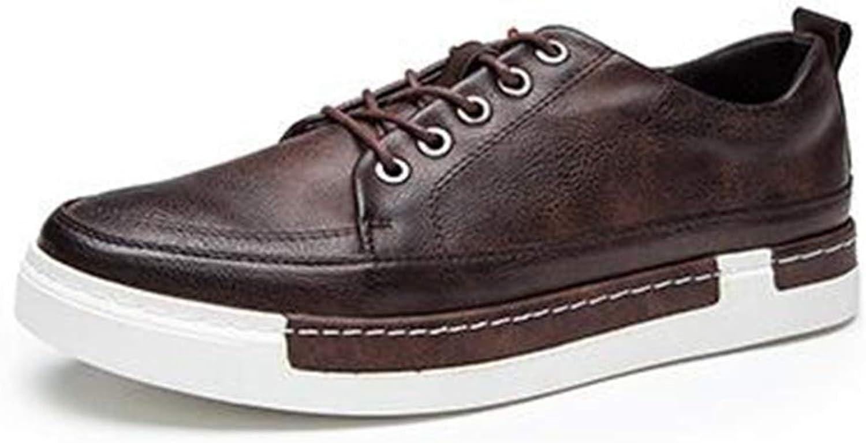 ZHRUI Mens Casual shoes Fashion Comfortable Men Loafer shoes (color   Brown, Size   9.5=44 EU)