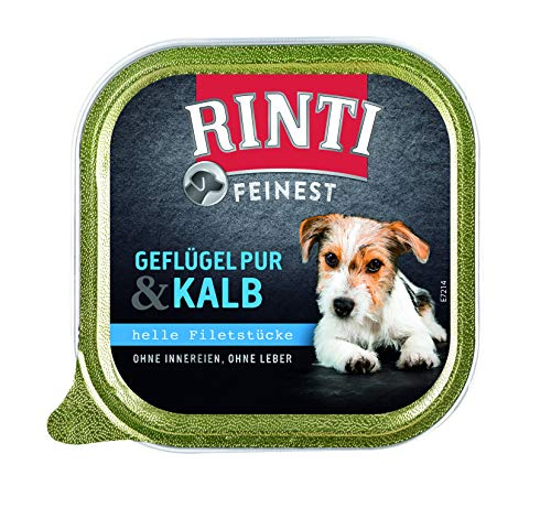 Rinti Feinest Geflügel Pur& Kalb, 11er Pack (11 x 150 g)