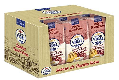 Patatas Fritas Vicente Vidal   Huevo Frito con Jamón 135g.