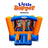 Blast Zone Little Bopper - Inflatable Bounce House with Blower - Indoor/Outdoor - Portable - Sets Up in Seconds
