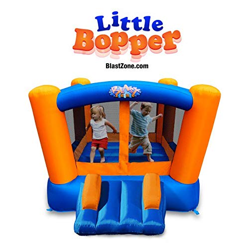 Blast Zone Little Bopper - Inflatable Bounce House with Blower - Indoor/Outdoor...