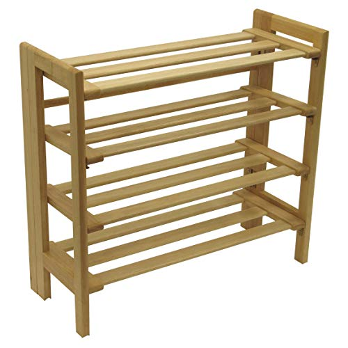 Winsome Mercury Shoe Rack, Natural