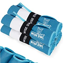SUPER SOFT, EXTRA ABSORBENT & FAST DRYING – Unlike other workout towels, ours are incredibly soft, super absorbent and also fast drying making it an ideal choice for the gym. Each comes with a convenient hang loop that doubles as a wrap for easy stor...