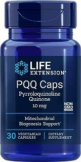 Life Extension PQQ Caps (Pyrroloquinoline Quinone) 10 mg, 30 Vegetarian Capsules