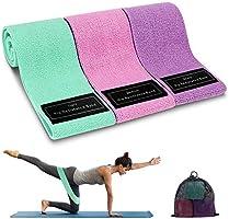 Cocoda Elastique Musculation, Bande Elastique avec 3 Niveaux de Résistance, Élastique Gym Antidérapantes avec Sac de...