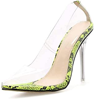 High-Heeled Shoes Pointed Toe Stiletto Ladies Large Size