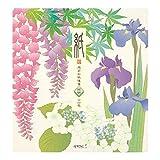 ミドリ 便箋 4柄入 初夏の花柄 87029006