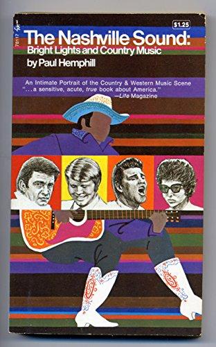 Buchseite und Rezensionen zu 'Nashville Sound. Aus der Welt der Country & Western Music' von  Paul Hemphill
