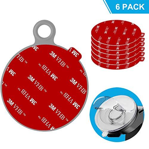 Anteel - Kit de repuesto adhesivo adhesivo adhesivo para salpicadero (80 mm), diseño de círculos...