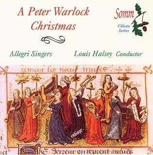 Peter Warlock Christmas by Allegri Singers (2003-09-30)