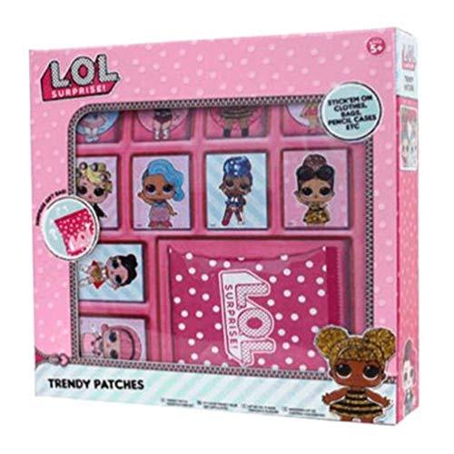 LOL Surprise Parches de Tela (420-010), Multicolor (New Import 1)