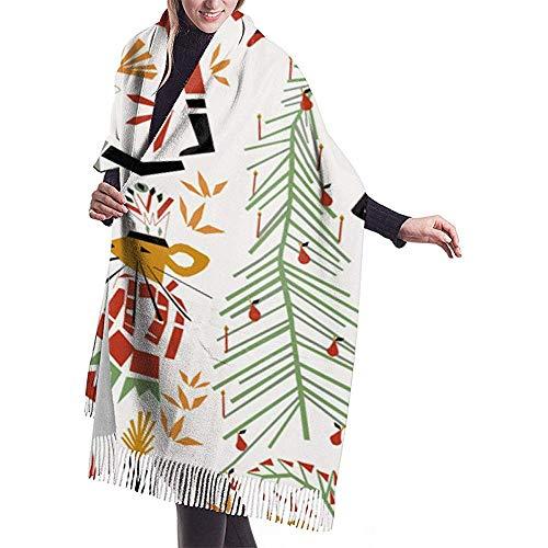 Bella-shop Der Nussknacker Schal Wrap Winter Warmer Schal