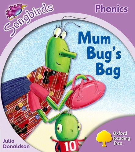 Oxford Reading Tree: Stage 1+: Songbirds: Mum Bug's Bagの詳細を見る