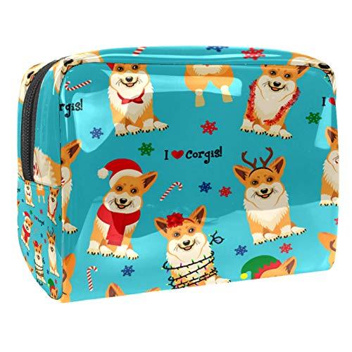 Borse da Toilette,Pigiama per cani Doggate ,make up borse da viaggio,Beauty Case da Viaggio,Cosmetici Trucco Pochette da Toilette Organizer
