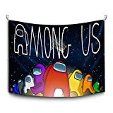Among Us Tapestry Gaming Wall Hanging Tapestries Home Decor(60'x50') Wall Art Blanket for Bedroom Party Living Room