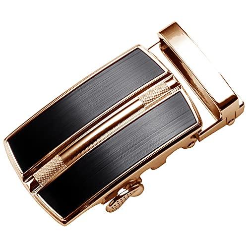 ベルト バックルのみ 交換 35mm 3.5cm オートロック おしゃれ 穴なし オートロック式 穴無し メンズ 交換用 バックル 自動ベルト 単品 ベルトなし スペア 替え 無段階 ブランド マックベルト MACBELT B-018gd