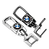 2 Pack Car Logo Key Chain Sturdy Keychain for BMW M Motorcycle E30 X5 Z4 X1 X2 X3 X4 X6 Z3 M3 M5 328i
