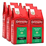 Community Coffee Café Special Decaffeinated Ground Coffee, 12 Ounces (Pack Of 6)