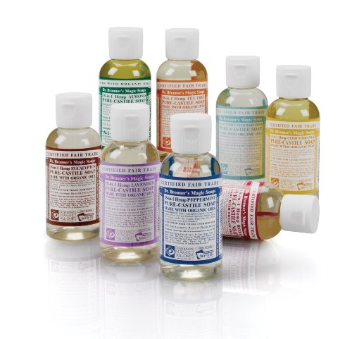Dr. Bronner's All-One Magic Soap - Kennenlernset, 8 x 59ml