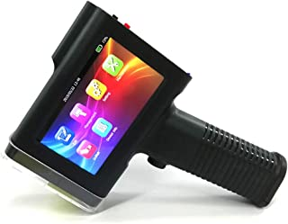 BENTSAI Handheld Inkjet Printer with 4.3 inch Touch Screen Label Printer for QR Code,Date Coder,Trademark,Logo etc