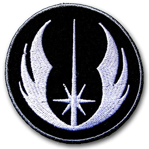 Verani Star Wars Jedi Order Tactical Patch Embroidered Iron on Symbol Emblem Assault Stormtrooper R2D2 c-3po Walker Imperial ATAT at-at Rebel Alliance Galactic Republic