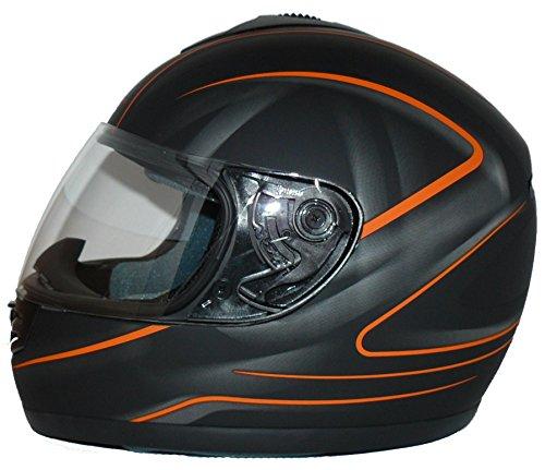 protectWEAR Motorradhelm Integralhelm V190-SO + Sturmhaube - S