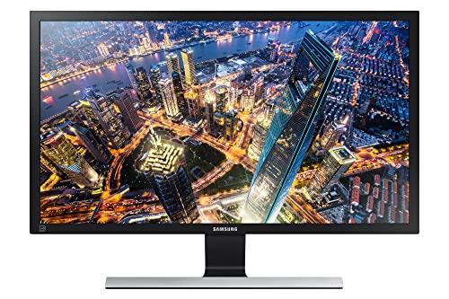 Samsung Monitor HRM UE590 (U28E570), Flat, 28', 3840x2160 (UHD 4K), Pannello TN, 60 Hz, 1 ms, FreeSync, HDMI, Display Port, Ingresso Audio, PIP PBP, Eye Saver Mode, Flicker Free, Eco Saving Plus, Nero