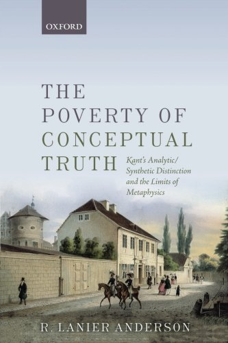 The Poverty of Conceptual Truth: Kant's Analytic/Synthetic Distinction and the Limits of Metaphysics