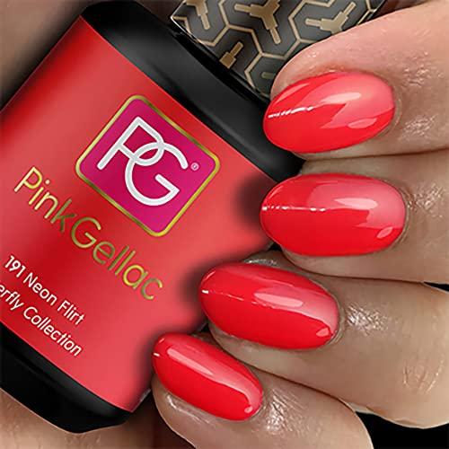 Pink Gellac -   191 Neon Flirt Uv