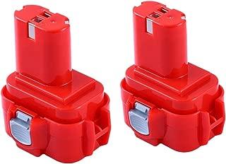 9.6V 3.6Ah Ni-Mh Battery for Makita 9100/9120 / 9122/192595-8 PA (2Pack)