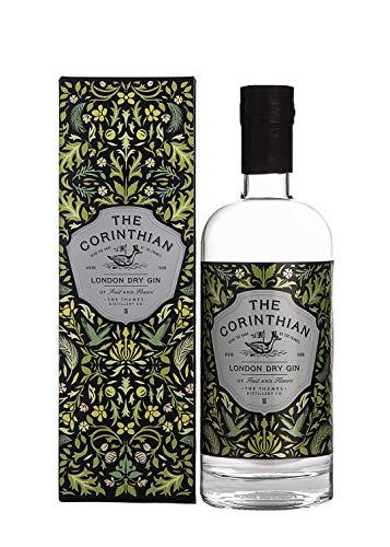 The Corinthian London Dry Gin - fruchtig-blumiger Gin aus dem Herzen Londons direkt von der Themse - hergestellt in kleinen Batches aus einer original Englischen Gin Brennblase von Master Distiller Charles Maxwell