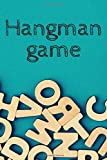 Hangman game - editable book with 100 pages - suitable for kids and adults - play with family or friends and become an expert on words - gift idea for any occasion: Cover with the alphabet