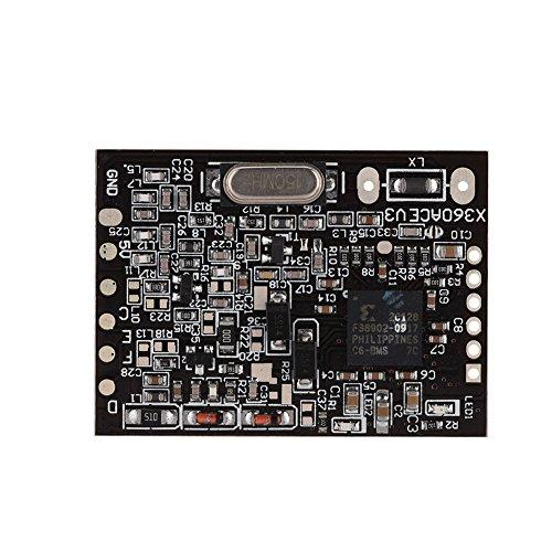 Denash 150 MHz Maschinenpuls-Chip für Xbox 360 Slim ACE V3, Mod-Chip mit Slim-Kabel/doppelseitigem Klebeband