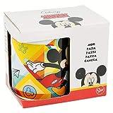 Topolino 78121 Tazza in ceramica in confezione regalo, Aplica, Flow