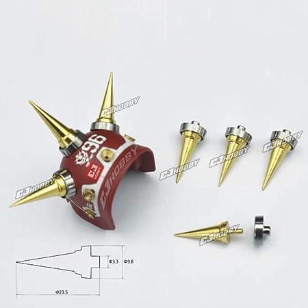 ガンプラ ロボット 模型 ディテールアップ用 メタルスパイク 長い MS8 (ゴールド) [並行輸入品]